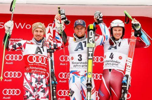 slalom gigante maschile SLALOM GIGANTE MASCHILE – HINTERSTODER – AUSTRIA n podiohinterstoder280216 500x330