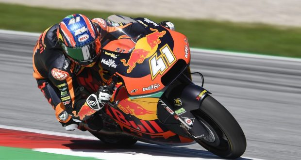 binder si prende aragon Binder si prende Aragon Brad Binder 2019 Austria Moto2 620x330
