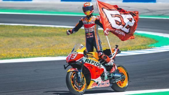 marquez chiude con la vittoria in casa Marquez chiude con la vittoria in casa 2019 round 4 jerez motogp e1557176581108
