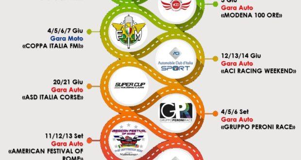 eventi vallelunga Eventi Vallelunga calendario gare 2020 620x330