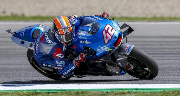 rins non cade e vince Rins non cade e vince MotoGP   lex Rins arrives in better condition at the Austrian 620x330