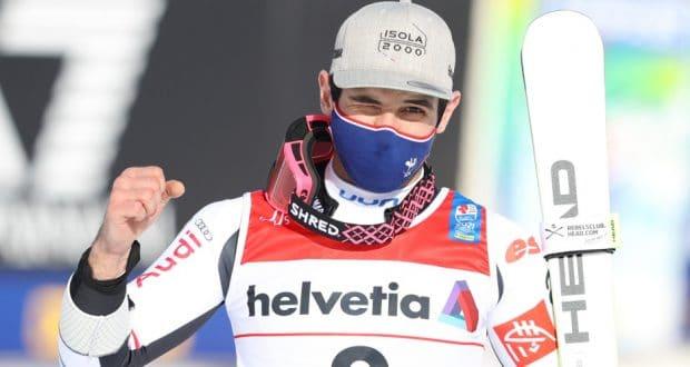 faivre si riconferma sul podio Faivre si riconferma sul podio mathieu faivre fis ski wc cortina d ampezzo slalom geant hommes 19 02 2021 1 620x330